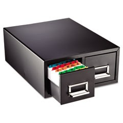 Drawer Card Cabinet Holds 3,000 4 x 6 cards, 14 1/2 x 16 x 6 1/4