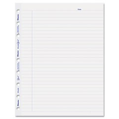 MiracleBind Ruled Paper Refill Sheets, 9-1/4 x 7-1/4, White, 50 Sheets/Pack