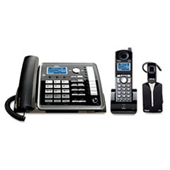 ViSYS 25270RE3 Two-Line Corded/Cordless Phone System with Cordless Headset