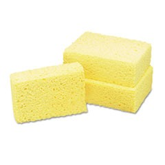 7920008841116, Cellulose Coarse Sponge, 3 5/8 x 5 3/4 x 1 3/4, Natural, 60/Box