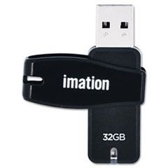 Swivel USB 2.0 Flash Drive, 32 GB