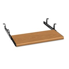 Slide-Away Keyboard Platform, Laminate, 21.5w x 10d, Harvest