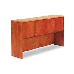 Verona Veneer Series Storage Hutch With 4 Doors, 71w x 15d x 36-1/2h, Cherry