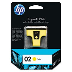 HP 02, (C8773WN) Yellow Original Ink Cartridge