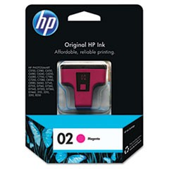 HP 02, (C8772WN) Magenta Original Ink Cartridge