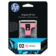 HP 02, (C8775WN) Light Magenta Original Ink Cartridge