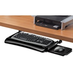 Office Suites Underdesk Keyboard Drawer, 20.13w x 7.75d, Black