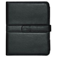 Faux Leather Easel iPad Case, 10.063 x 1.125 x 8.125, Black