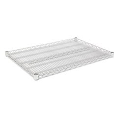 Industrial Wire Shelving Extra Wire Shelves, 36w x 24d, Silver, 2 Shelves/Carton