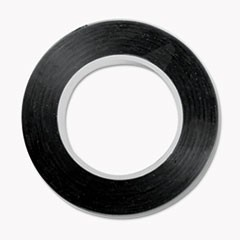"Art Tape, 18"" x 28.5 ft, Black"