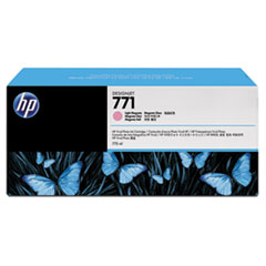 HP 771, (B6Y43A) 3-pack Light Magenta Original Ink Cartridges