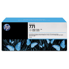 HP 771, (B6Y46A) 3-pack Light Gray Original Ink Cartridges