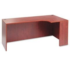 Valencia Left Corner Credenza Shell, 72w x 36d x 29 1/2h, Medium Cherry