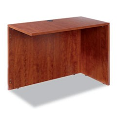 Alera Valencia Series Reversible Return/Bridge Shell, 42w x 23 5/8d x 29 1/2h, Medium Cherry