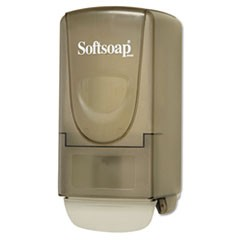 Plastic Liquid Soap Dispenser, 800mL, 5 1/4w x 3 7/8d x 10h, Smoke