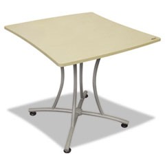 Trento Line Palermo Table, 33w x 31-1/2d x 29-1/2h, Oatmeal/Gray