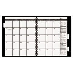Three/Five-Year Monthly Planner Refill, 9 x 11, White, 2016