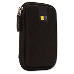 1Portable Hard Drive Case, Molded EVA, Black