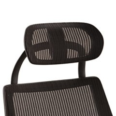 Alera Headrest for K8 Chair, Mesh, Black