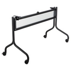 Impromptu Series Mobile Training Table Base, 49-1/2w x 24d x 28h, Black