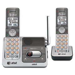 CL82201 DECT 6.0 Cordless Phone/Answering System, 2 Handsets
