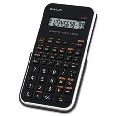 EL-501XBWH Scientific Calculator, 10-Digit LCD