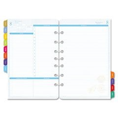 Flavia Dated Two-Page-per-Day Organizer Refill, 5-1/2 x 8-1/2, 2016