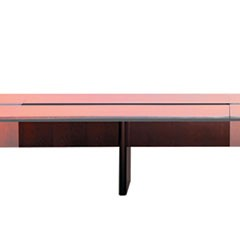 Corsica Conference Series 6' Adder Modular Table Base, Sierra Cherry