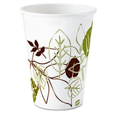 Pathways Paper Hot Cups, 8oz, 1000/Carton