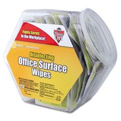 Disinfecting Wipes Office Surface Wipes, 75 Wipes/Canister