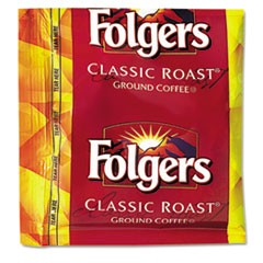 Coffee, Classic Roast, .9oz Fractional Packs, 36/Carton