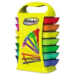 Mini Colored Pencils, Classroom Case, 26 Packs of 8 Colors, 208 Pencils/Set