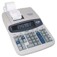 1560-6 Two-Color Ribbon Printing Calculator, Black/Red Print, 5.2 Lines/Sec