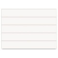 "Dry Erase Magnetic Tape Strips, White, 6"" x 7/8"", 25/Pack"