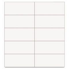 "Dry Erase Magnetic Tape Strips, White, 2"" x 7/8"", 25/Pack"