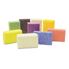 1Squishy Foam Classpack, Assorted Colors, 36 Blocks