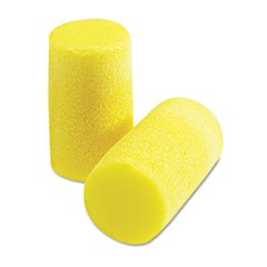 E�A�R Classic Plus Earplugs, PVC Foam, Yellow, 200 Pairs