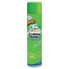 Scrubbing Bubbles Bathroom Cleaner, 25oz Aerosol, 12/Carton