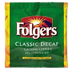 Coffee Filter Packs, Decaffeinated, In-Room Lodging, .9oz, 200/Carton