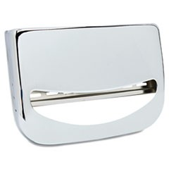 Toilet Seat Cover Dispenser, 16 x 3 x 11.5, Chrome