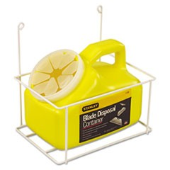 Blade Disposal Container With Wire Rack, 11-081