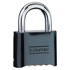 No. 178 Solid Brass Combination Padlock, Resettable