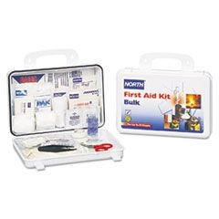 Bulk First Aid Kit, 25 Person, 85 Pieces, Plastic Case