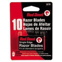 Single Edge Scraper Razor Blades, 2 Packs Of 5 Blades