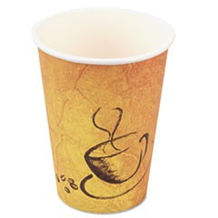 Premium Paper Hot Drink Cups, Paper, 8 oz., 600/Carton