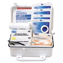 ANSI #10 Weatherproof First Aid Kit, 57-Pieces, Plastic Case