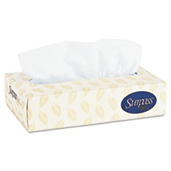 Facial Tissue, 2-Ply, 125 Tissues/Box, 60 Boxes/Carton