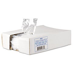 "Silverware Bags, 0.7 mil, 3.5"" x 1.5"", Clear, 2,000/Carton"