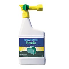 Dumpster Fresh, Floral, 32 oz Spray Bottle, 4/Carton