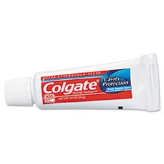 Toothpaste, Personal Size, 0.85 oz Tube, Unboxed, 240/Carton